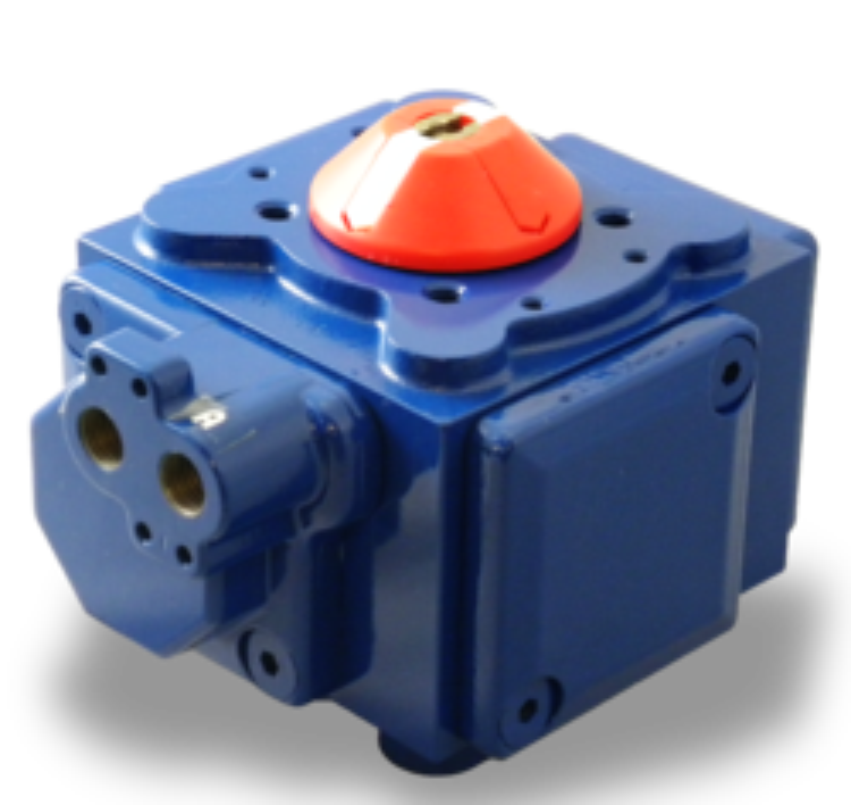 Indelac Pneumatic Actuator IP Series