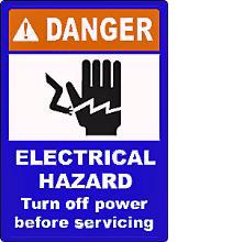 Danger Electrical Hazard