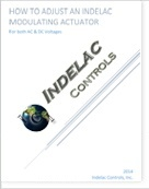 How to Adjust an Indelac Modulating Actuator AC-DC Voltages