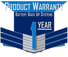 ICI 1 YEAR WARRANTY ICON - EXTERNAL BATTERY BACKUP SYSTEMS