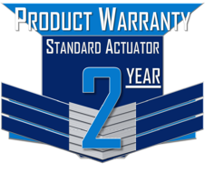 ICI 2 YEAR PRODUCT WARRANTY ICON - QUARTER-TURN ELECTRIC ACTUATORS