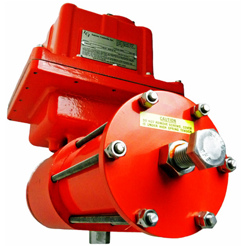 AS4 Spring Return Electric Actuator - Front View