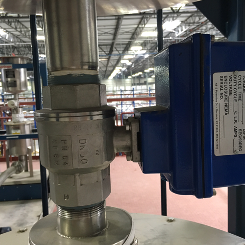 Indelac Actuator in application – 3
