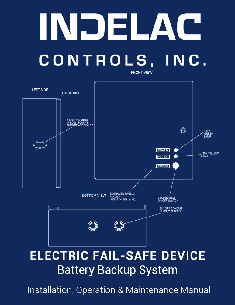 Electric Fail-Safe - Battery Back-up System