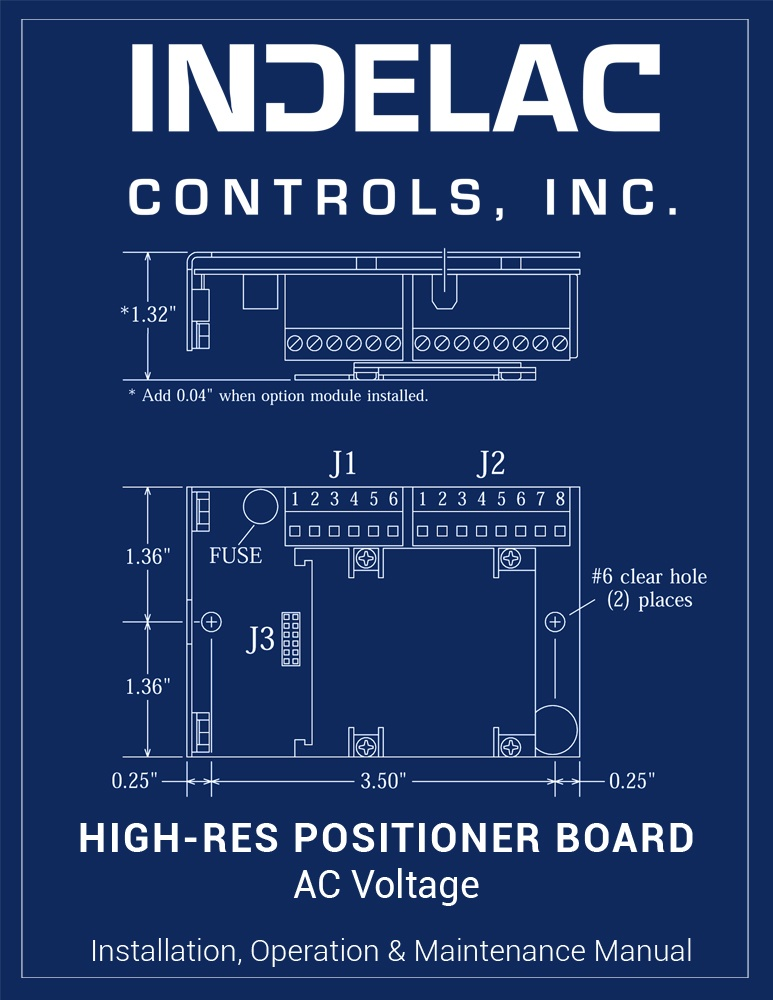 High-Resolution Positioner Board AC Voltage
