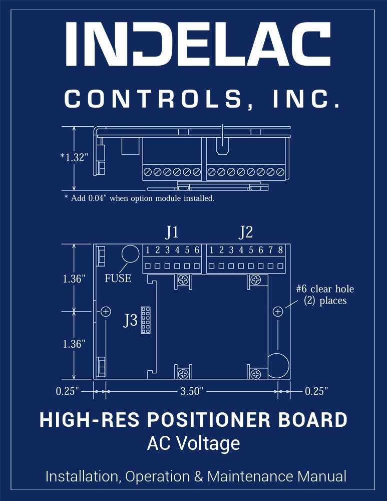 High-Resolution Positioner Board AC Voltage