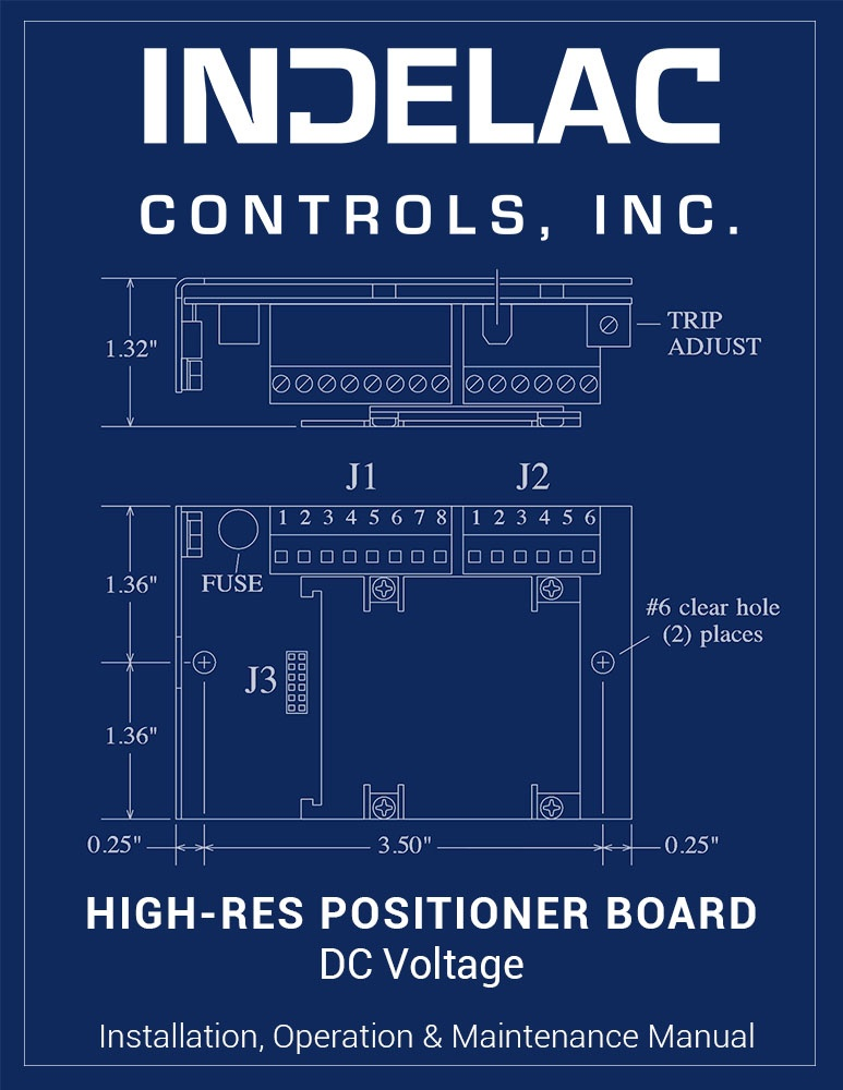 High-Resolution Positioner Board DC Voltage