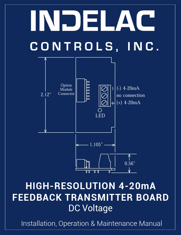 High-Resolution Transmitter Board DC Voltage