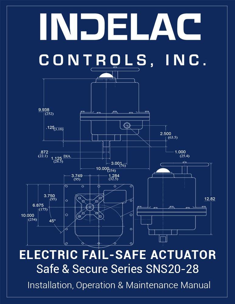 Electric  Fail-Safe Actuator SNS20-28 (R1)