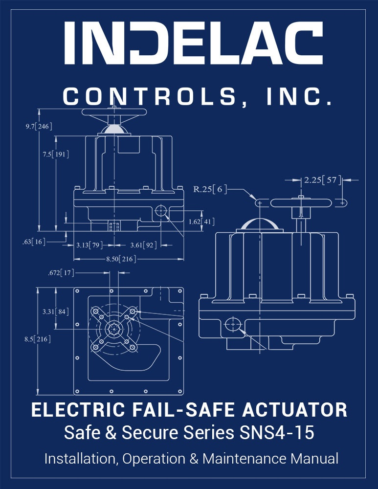Electric  Fail-Safe Actuator SNS4-15