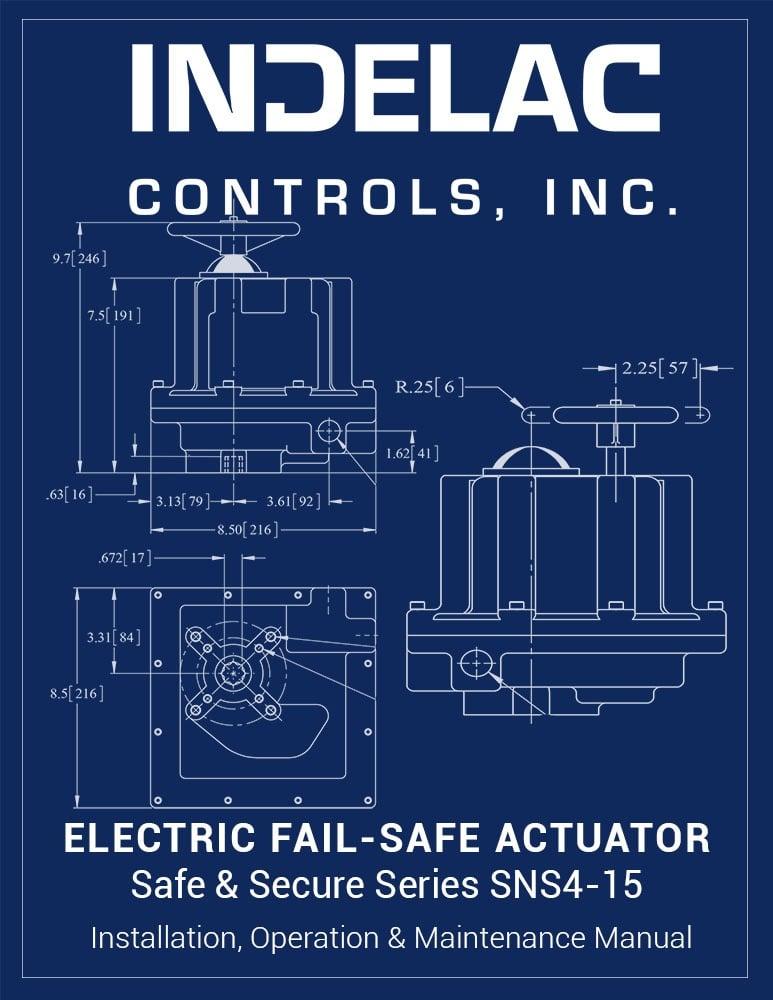 Electric  Fail-Safe Actuator SNS4-15