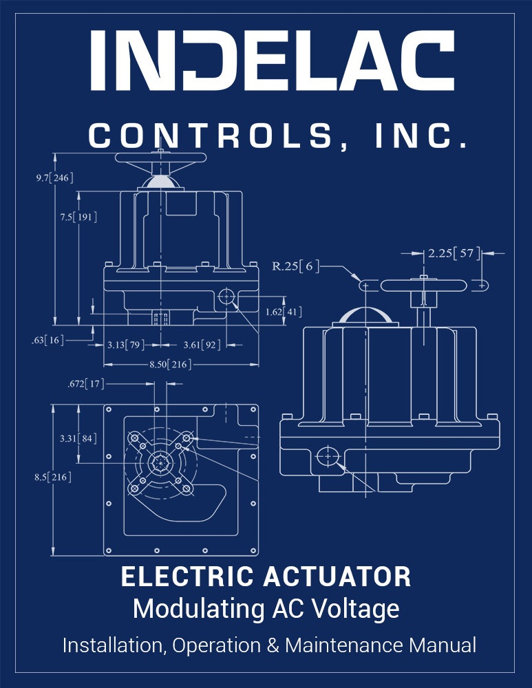 Electric Actuator Modulating AC Voltage