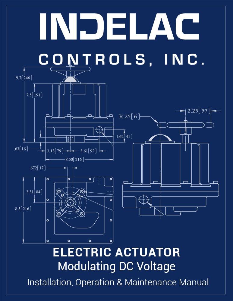 Electric Actuator Modulating DC Voltage