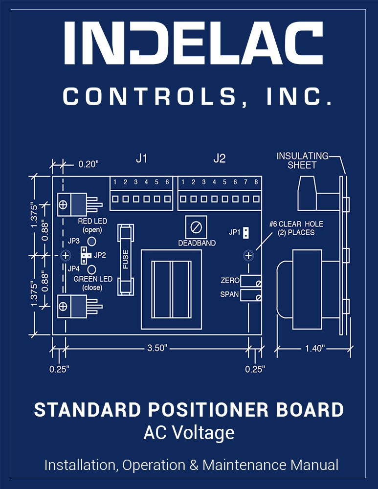 Standard Positioner Board AC Voltage