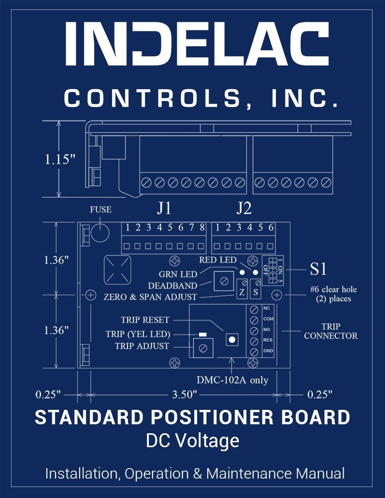 Standard Positioner Board DC Voltage