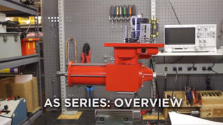 AS Series Electric Spring Return Actuator Overview