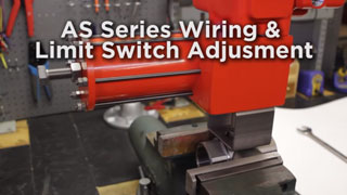 Wiring & Limit Switch Adjustment for AS Series